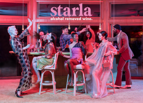 Starla Alcohol Removed Wine SS21 Collection Photographed by Shayna Fontanta, Styled by Carlos Alonos-Parada, Prop styling by Nolan Kiser