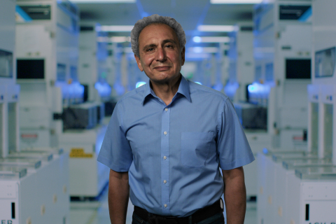 """Babak Sabi, corporate vice president at Intel Corporation, speaks during a virtual presentation as part of the """"Intel Accelerated"""" event on July 26, 2021. At the event, Intel presented the company's future process and packaging technology roadmaps. (Credit: Intel Corporation)"""