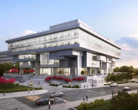 """浦項鋼鐵集團啟用旨在培育初創企業的初創企業孵化器""""CHANGeUP GROUND Pohang""""。透過該孵化器,浦項鋼鐵計畫以浦項的尖端科學和科技基礎設施為基礎,發現並孕育卓越的初創企業,將其作為「新太平洋矽谷」來打造獨角獸公司。CHANGeUP GROUND總占地面積2.8萬平方公尺,可容納機械、材料、電子、半導體、軟體、生物和醫療、化學、能源和資源等領域具前景的初創企業。目前已有62家深具前景的初創企業入駐,並受到韓國初創界的廣泛關注。(圖片:美國商業資訊)"""