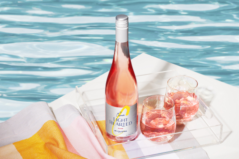 For the first time this year at Lollapalooza, festival-goers can enjoy Cupcake LightHearted, Cupcake's new wine that has 80 calories and 8% ALC/VOL per 5 oz. serving. (Photo: Business Wire)