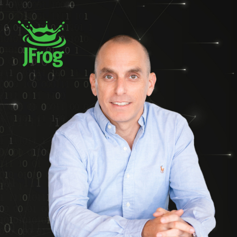 Sagi Dudai EVP of Product and Engineering at JFrog (Photo: Business Wire)