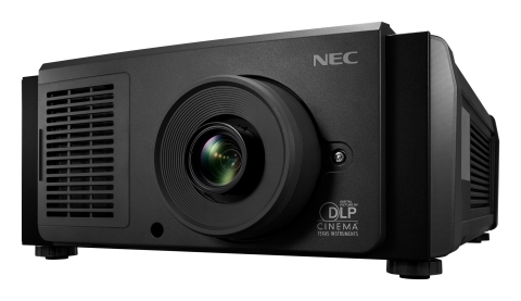 NEC's NC1202L projector (Photo: Business Wire)