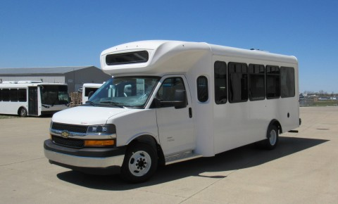 XL Fleet is partnering with NFI's ARBOC to offer hybrid electric bus options, similar to the one shown here, through ARBOC's North American dealer network. (Photo: Business Wire)