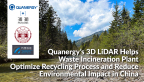 Quanergy's 3D LiDAR Helps Waste Incineration Plant Optimize Recycling Process and Reduce Environmental Impact in China (Graphic: Business Wire)