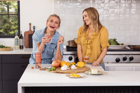 Avaline founders, Cameron Diaz and Katherine Power, celebrate one year anniversary with exponential growth and Series A funding. (Photo: Business Wire)