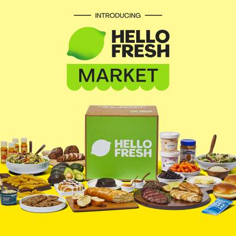 HelloFresh Market Launches in U.S., Expanding Beyond Weeknight Dinners to Everyday Essentials (Photo: Business Wire)