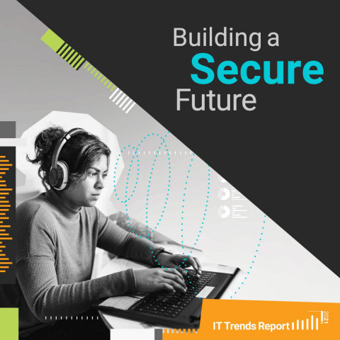 SolarWinds® IT Trends Report 2021: Building a Secure Future (Graphic: Business Wire)