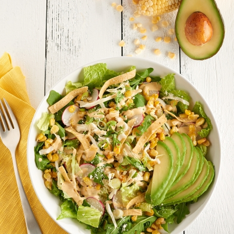 In celebration of the Summer Games, Aramark tapped into its network of more than 1,000 chefs, who serve more than a billion meals each year, to create a list of globally inspired summer recipes, like this Mexican Street Corn Salad, that also pack a plant-forward punch. (Photo: Business Wire)