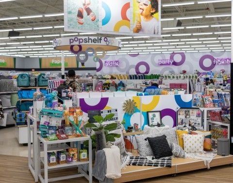 Dollar General Announces Opening of Newest Store-within-a-Store Concept; First Two DG Market + pOpshelf Stores Now Open Near Nashville (Photo: Business Wire)