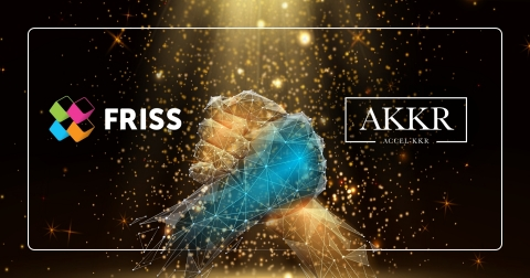 FRISS lève 65 millions $ par un financement de série B mené par Accel-KKR (Graphique: Business Wire)