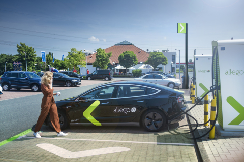 Allego Ultra-Fast Charging Location (Photo: Business Wire)