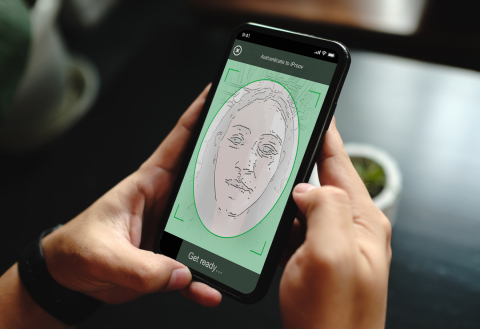 iProov's Genuine Presence Assurance™ technology verifies that an online user is the right person, a real person, authenticating right now. (Photo: Business Wire)