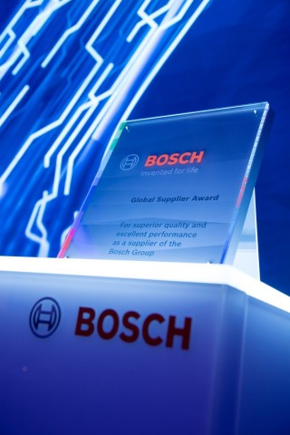 Keysight Technologies, Inc. named one of the 2021 Bosch Global Supplier Award winners for purchasing of indirect materials. (Graphic: Business Wire)