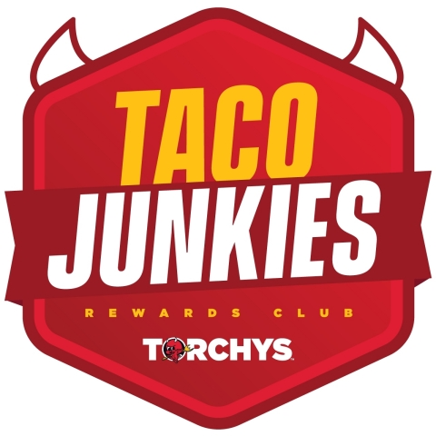 Torchy's Tacos is celebrating its 15-year milestone by launching the Taco Junkies Rewards Club, the brand's first loyalty program to reward its most loyal Taco Junkies with offers and other member-exclusive rewards. (Graphic: Business Wire)