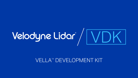 The Vella Development Kit (VDK) from Velodyne Lidar allows customers to use the advanced capabilities of Vella lidar perception software in autonomous solutions. VDK enables companies to accelerate time to market for bringing cutting-edge lidar capabilities to autonomous vehicles, advanced driver assistance systems (ADAS), mobile delivery devices, industrial robotics, drones and more. (Graphic: Velodyne Lidar)