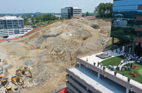 Photo courtesy of Consigli Construction Co., Inc.