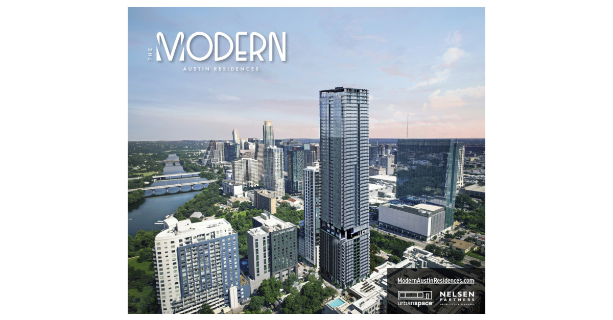 """Austin's Newest Highrise Announced """"The Modern Austin Residences,"""" a 55-Story Condo Tower"""