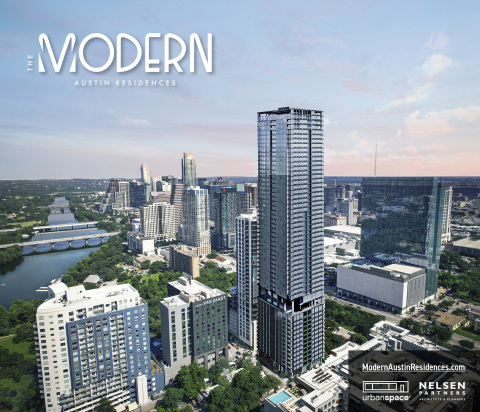 Introducing The Modern Austin Residences - developed by Urbanspace Real Estate + Interiors. Now accepting interested parties at - TheModernAustinResidences.com - Sales and construction to commence early 2022. (Graphic: Business Wire)