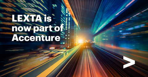 LEXTA is now part of Accenture — With the acquisition Accenture expands its capabilities in IT Benchmarking, Sourcing and Advisory. Welcome on board (Graphic: Business Wire)