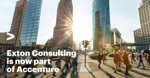 Exton Consulting is now part of Accenture (Graphic: Business Wire)