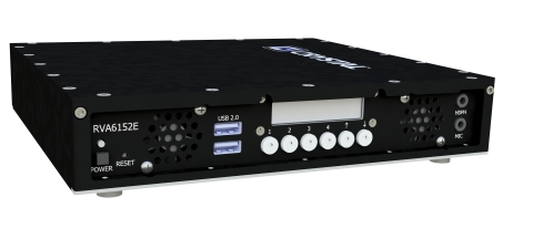 Crystal Group's new RVA6152 video encoder. (Photo: Business Wire)