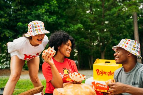 Get your Bojangles bucket hats, t-shirts and more at store.bojangles.com. (Photo: Bojangles)