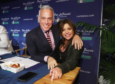 Geoffrey Zakarian and Rachael Ray at NYCWFF. (Photo: Business Wire)