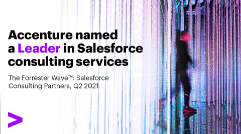 Accenture named a Leader in Salesforce consulting services (Graphic: Business Wire)