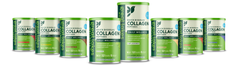 Great Lakes Wellness Quick Dissolve Collagen Peptides (Photo: Business Wire)