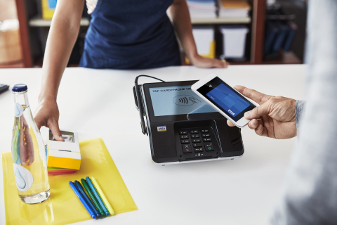 Tap to Pay with Visa (Photo: Business Wire)