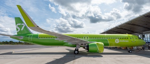 Aviation Capital Group Announces Delivery of One A321neo to S7 Airlines (Photo: Business Wire)