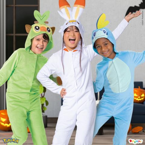 Pokemon Costumes (Photo: Business Wire)