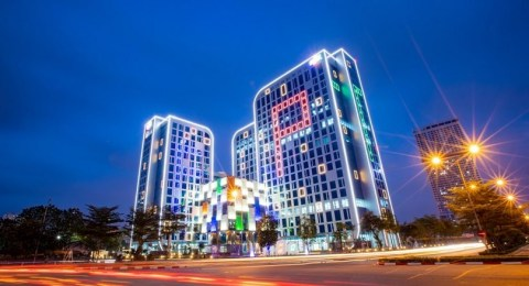FPT Tower – one of FPT Software's campuses in Hanoi, Vietnam (Photo: Business Wire)