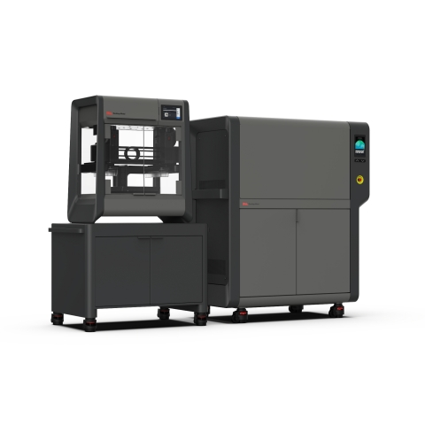Desktop Metal has qualified the use of titanium alloy Ti-6Al-4V (Ti64) for the Studio System 2™, an accessible metal 3D printing platform that offers customers the easiest way to print high-performance metal parts in low volumes for pre-production and end-use applications. With plans to begin shipping Ti64 next month, Desktop Metal will be the first and only company to make the material commercially available for extrusion-based bound metal additive manufacturing technologies. (Photo: Business Wire)