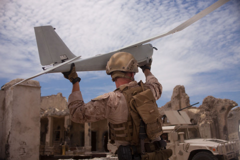 AeroVironment's standardized modular payload interface kit enables customer-driven payloads to be quickly and easily integrated into RQ-20B Puma (Photo: AeroVironment, Inc.)