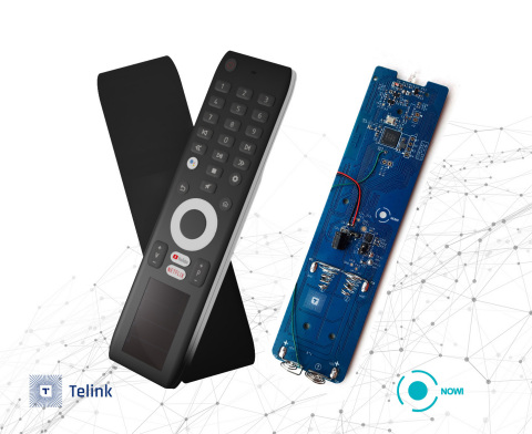 Nowi & Telink TV Remote Control Reference Design with NH2 PMIC and TLSR8271 chipset