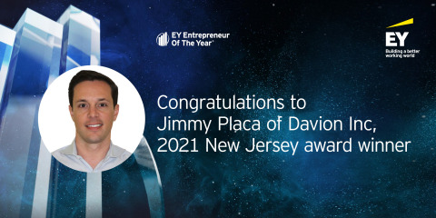 Jimmy Placa - EY Entrepreneur of the Year 2021 New Jersey Award Winner