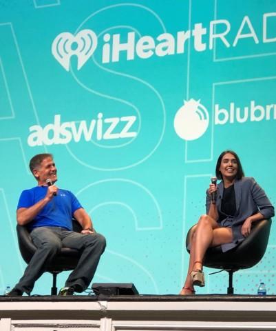 Fireside Co-Founders Mark Cuban and Fallon Fatemi (Photo: Business Wire)