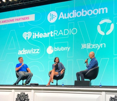 Fireside Co-Founders Mark Cuban and Fallon Fatemi announce partnership with Libsyn (Photo: Business Wire)