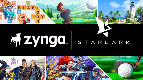 Zynga Enters Into Agreement to Acquire Mobile Game Developer StarLark, Team Behind the Hit Franchise, Golf Rival (Graphic: Business Wire)
