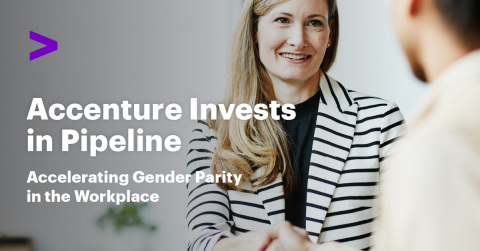 Accenture makes a strategic investment in Pipeline to accelerate gender parity in the workplace.