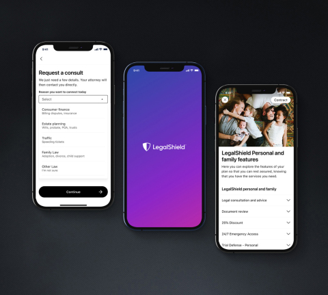 Revolutionizing Access to Justice: Introducing LegalShield's Enhanced Mobile App (Photo: Business Wire)