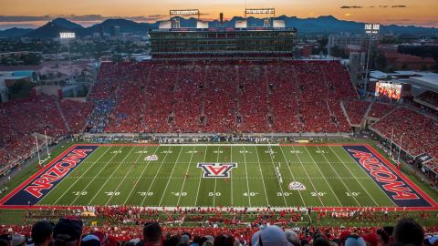 Arizona Athletics to announced a new multi-year partnership with Aramark as its concessions operator beginning with the 2021-22 academic year. (Photo: Business Wire)