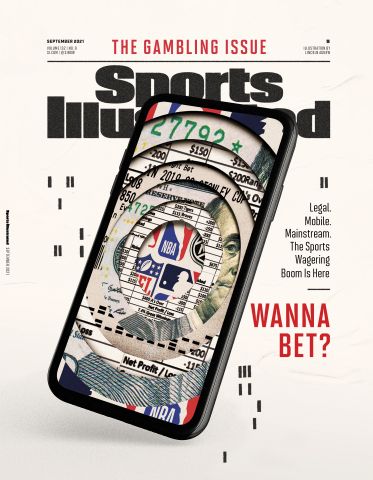 The Gambling Issue of Sports Illustrated, available online and newsstands Aug. 12. (Photo: Business Wire)