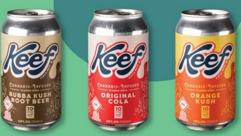 Keef Cannabis-Infused Beverages (Photo: Business Wire)