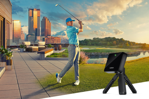 Introducing the Approach R10 portable golf launch monitor from Garmin (Graphic: Business Wire)