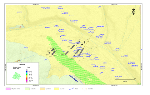 Figure 4: NW Zone Drill Hole Map (Graphic: Business Wire)