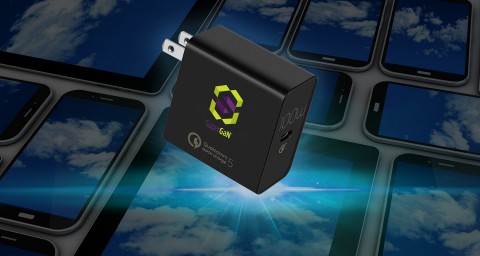 Transphorm and Salom partner to deliver a 100 W USB-C PD PPS adapter that is Quick Charge™ 5 compliant. (Photo: Business Wire)