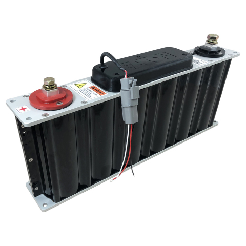 Eaton's supercapacitors are able to quickly charge and discharge at higher rates than lithium-ion batteries. (Photo: Business Wire)