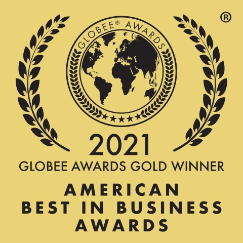 The Mary Kay Foundation℠ was named a Gold Globee® Winner at the 6th Annual 2021 American Best in Business Awards. (Graphic: Mary Kay Inc.)